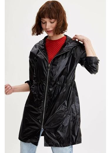 DeFacto Yağmurluk Siyah